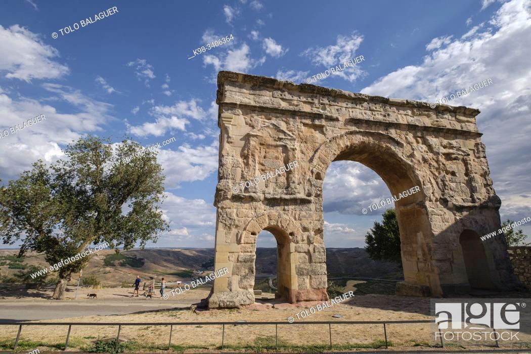Imagen: Medinaceli, Soria, comunidad autónoma de Castilla y León, Spain, Europe.