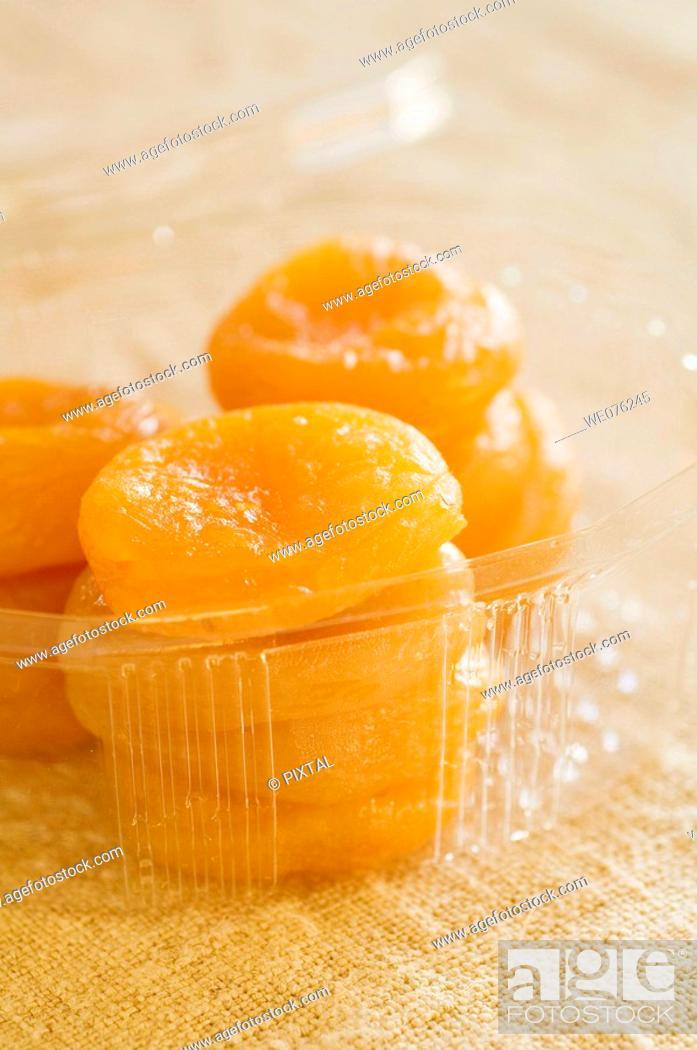 Stock Photo: Dry apricot.