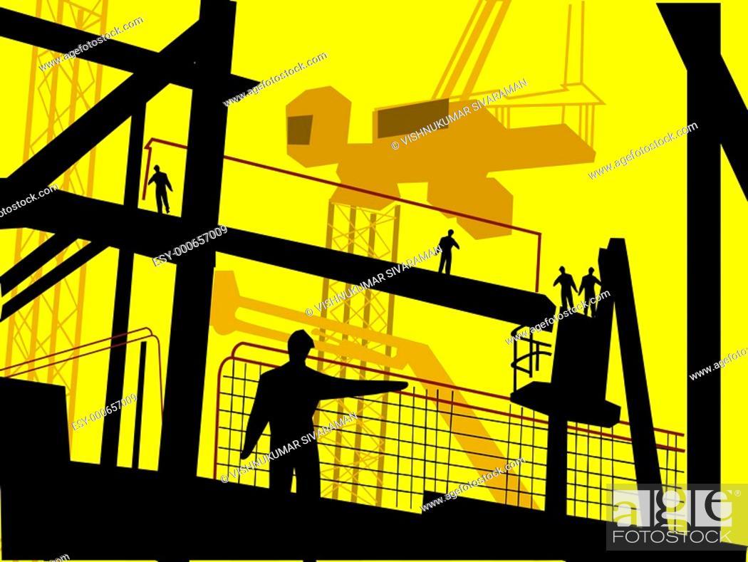 Stock Photo: Construction.