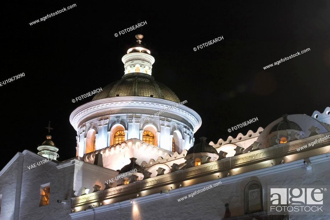 Stock Photo: Balcony, Dome, Castle, Arch.