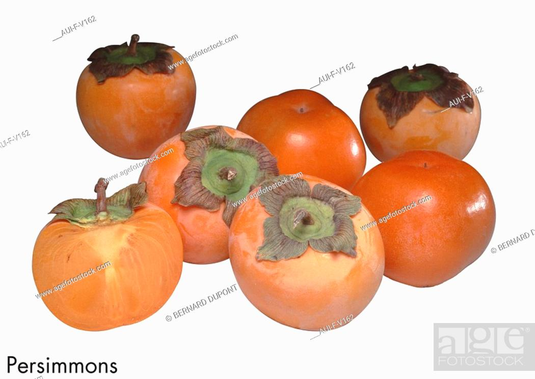 Stock Photo: Persimmons.