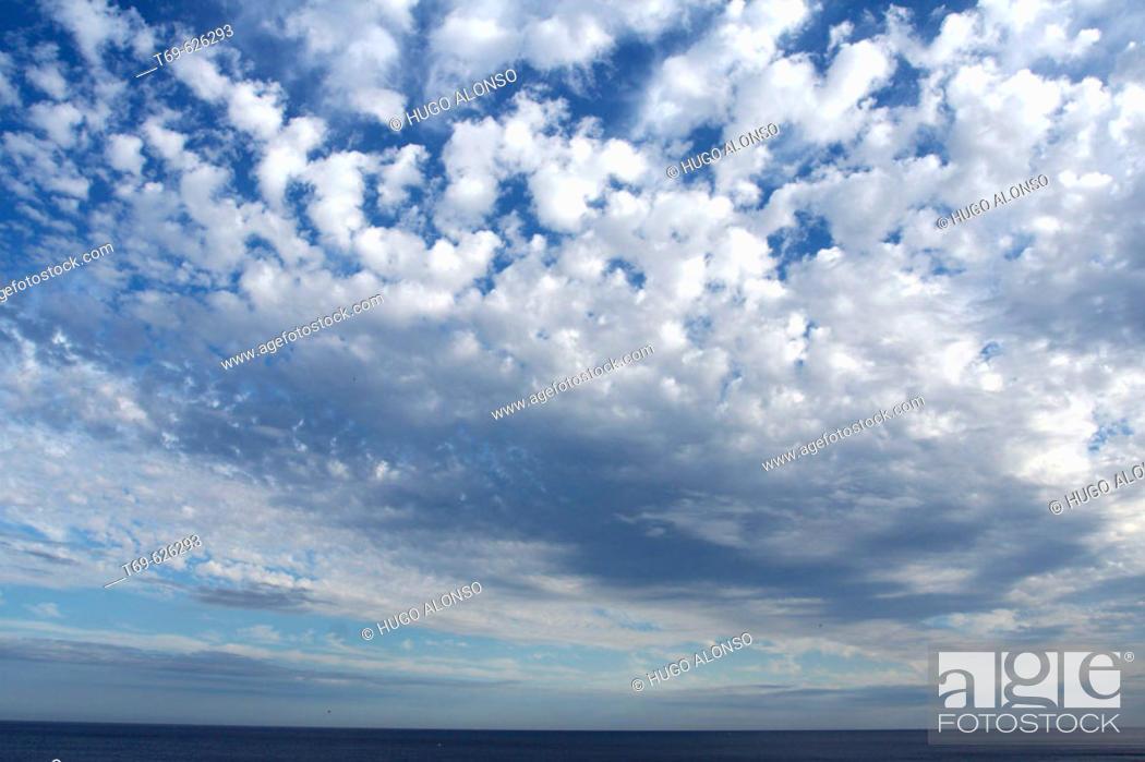Stock Photo: Sky. Almeria. Andalucia, Spain.