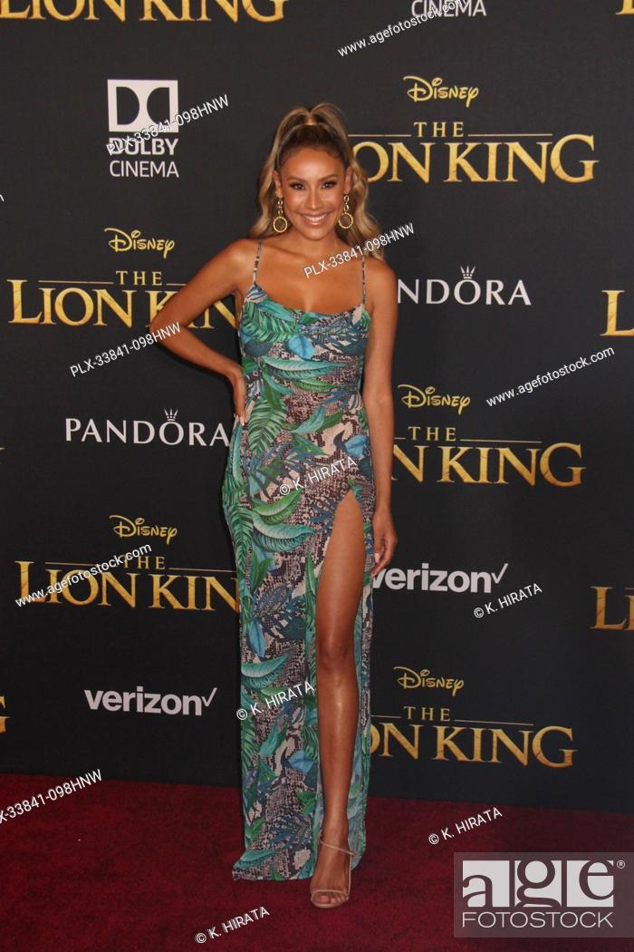 """Stock Photo: Desi Perkins 07/09/2019 """"""""The Lion King"""""""" Premiere held at the Dolby Theatre in Hollywood, CA. Photo by: K. Hirata / HNW/ PictureLux."""