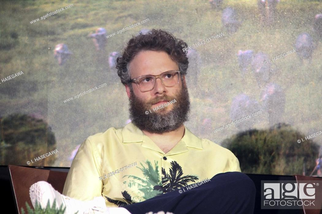 "Stock Photo: Seth Rogen 07/10/2019 """"The Lion King"""" Press Conference held at the Montage Beverly Hills Luxury Hotel in Beverly Hills, CA. Photo by I."