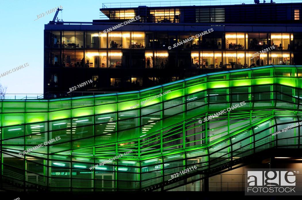 Stock Photo: Cité de la Mode et du Design (City of Fashion and Design), IFM (Institut Français de la Mode), Docks en Seine, Quai d'Austerlitz, Paris, France.