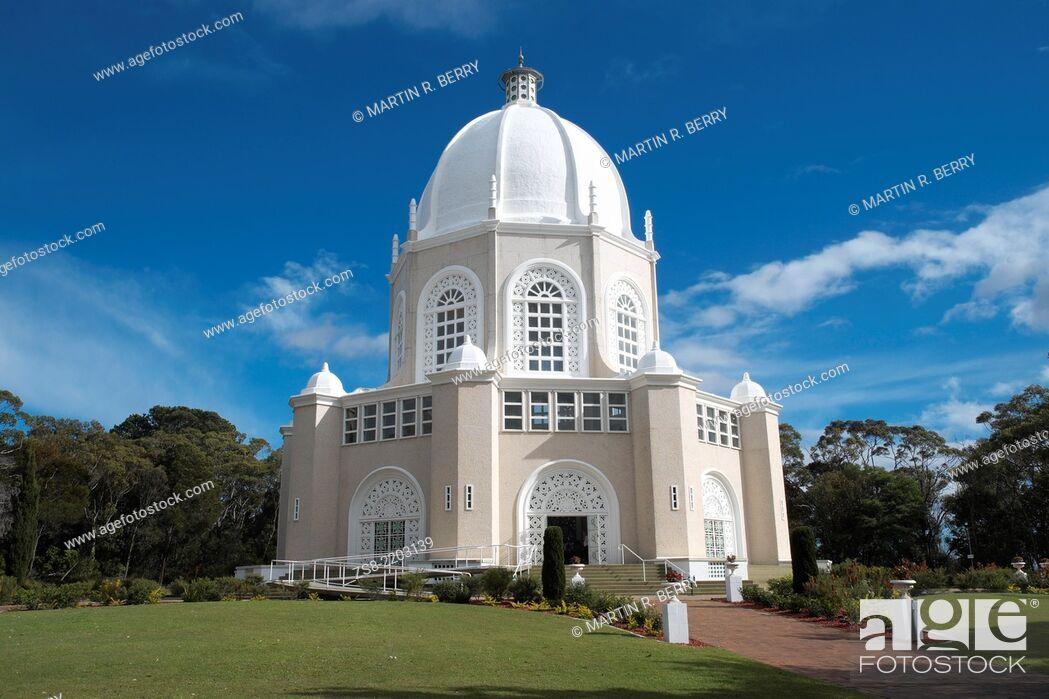 Stock Photo: Bahai temple in Ingleside, North Sydney, Australia.