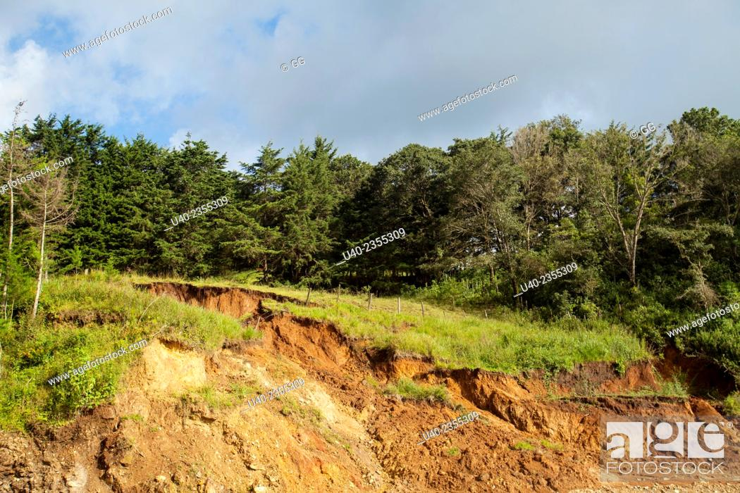 Stock Photo: Guatemala, Alta Verapaz, landscape.