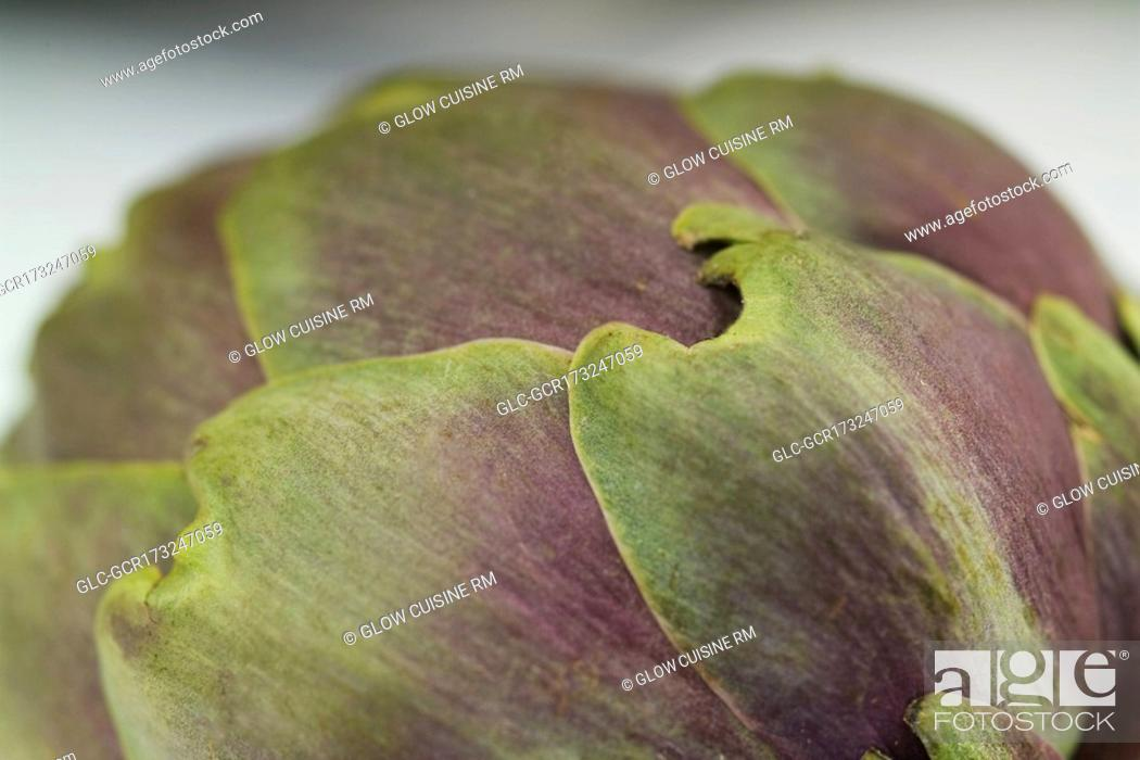 Stock Photo: Close-up of an artichoke.