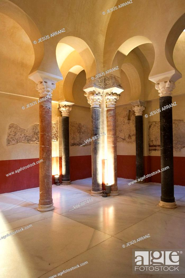 Imagen: Bathrooms archaeological site of the Cordoba Caliphate.