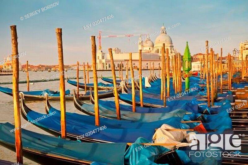 Stock Photo: Morning in Venice.