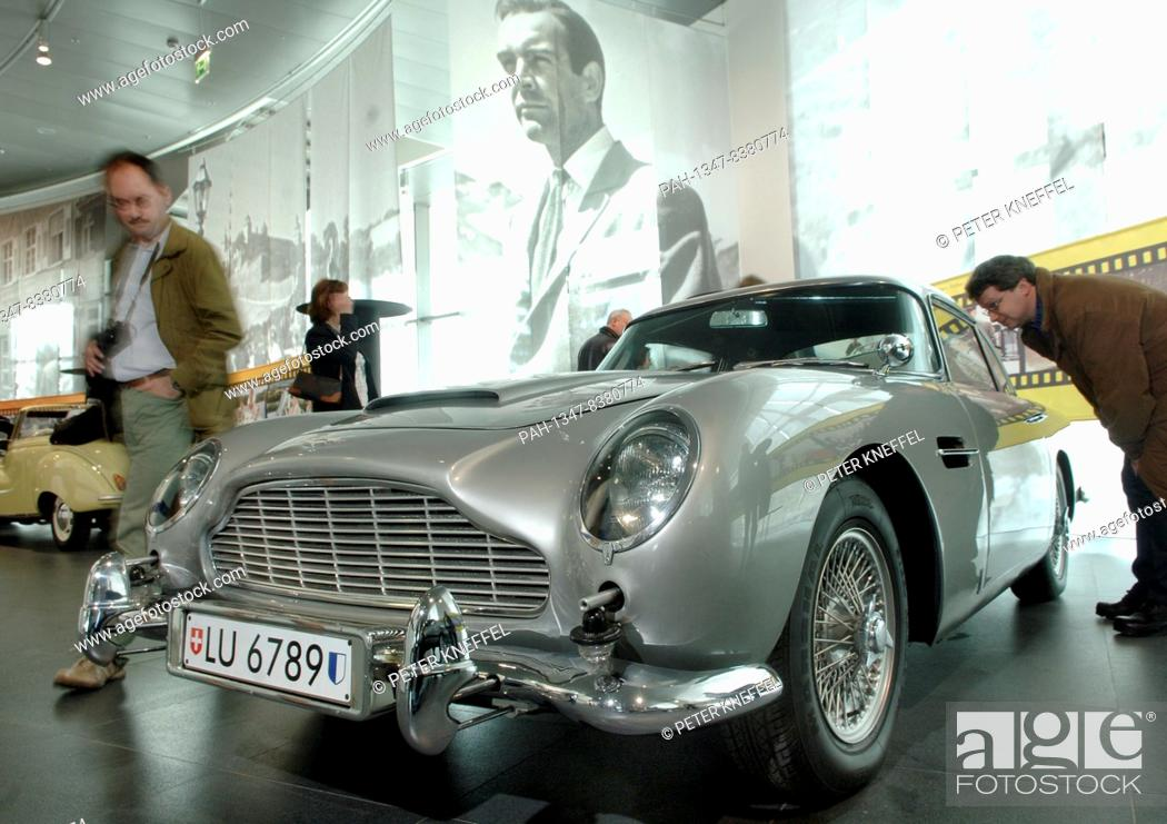 Dpa Files An Aston Martin Db5 Pictured In The Audi Museum In Ingolstadt Germany 17 April 2005 Stock Photo Picture And Rights Managed Image Pic Pah 1347 8380774 Agefotostock