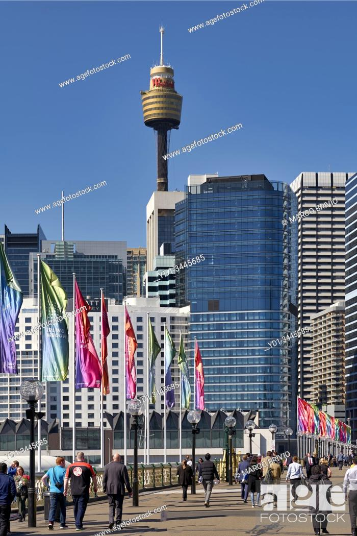 Stock Photo: The Sydney Tower Centrepoint. Australia.