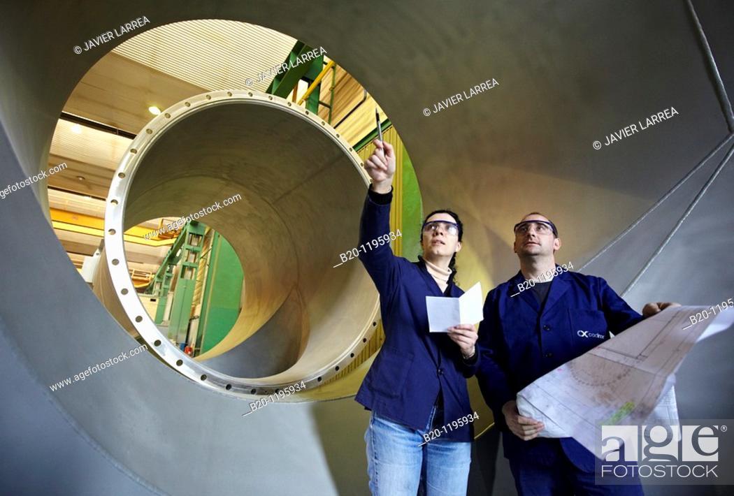 Stock Photo: Boilermaking, Gipuzkoa, Euskadi, Spain.