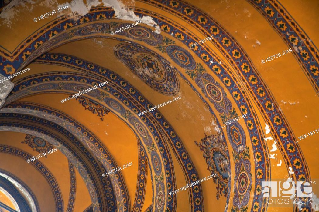Stock Photo: Roof detail from hagia sophia.