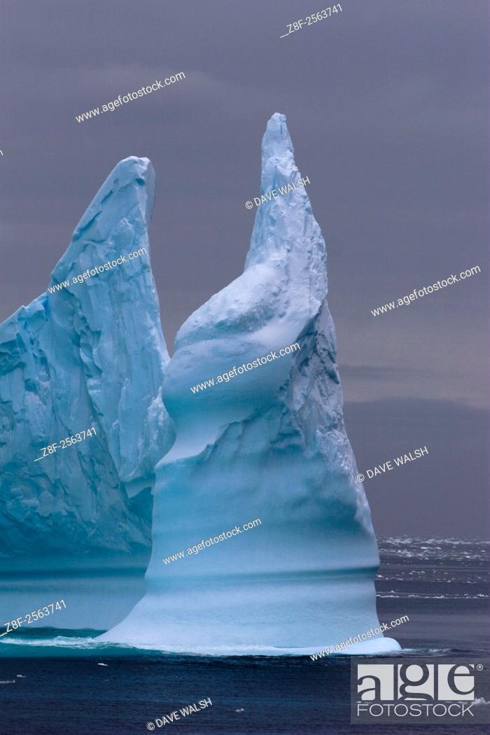 Imagen: Iceberg minaret, Southern OCean.