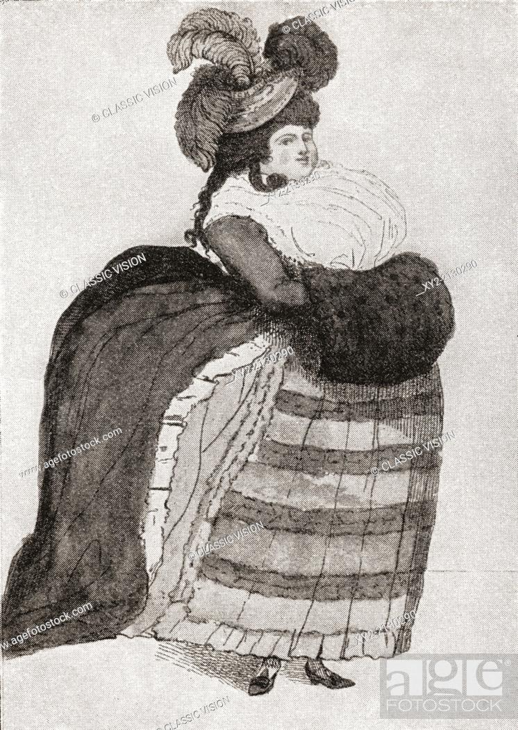 Maria Anne Fitzherbert, previously Weld, née Smythe, 1756