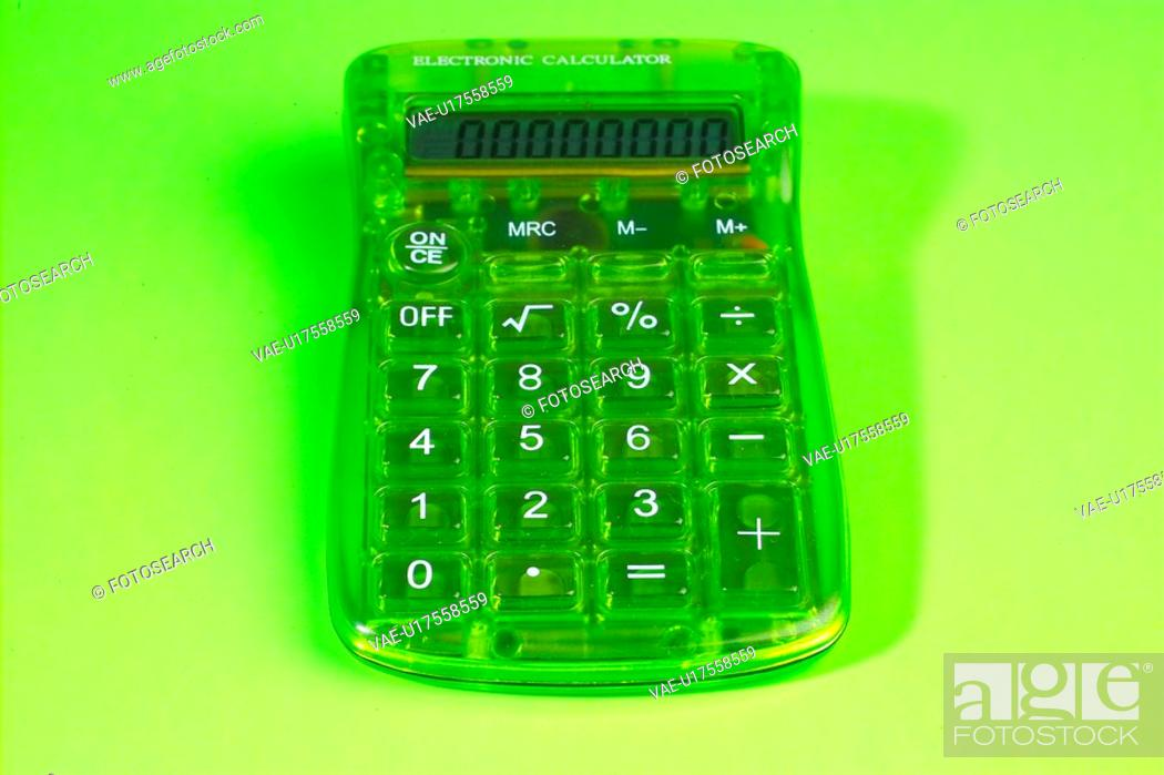 Stock Photo: office stationery, business, electronic organizer, calculator.
