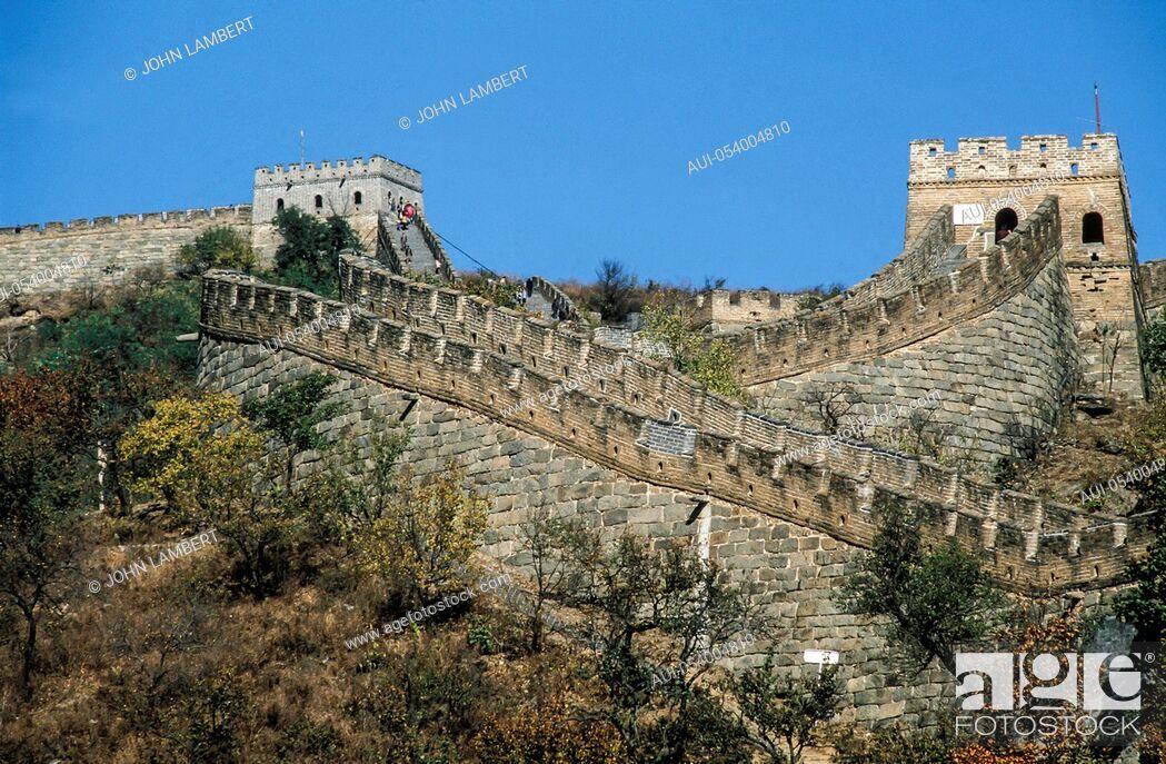 Stock Photo: china - the great wall.