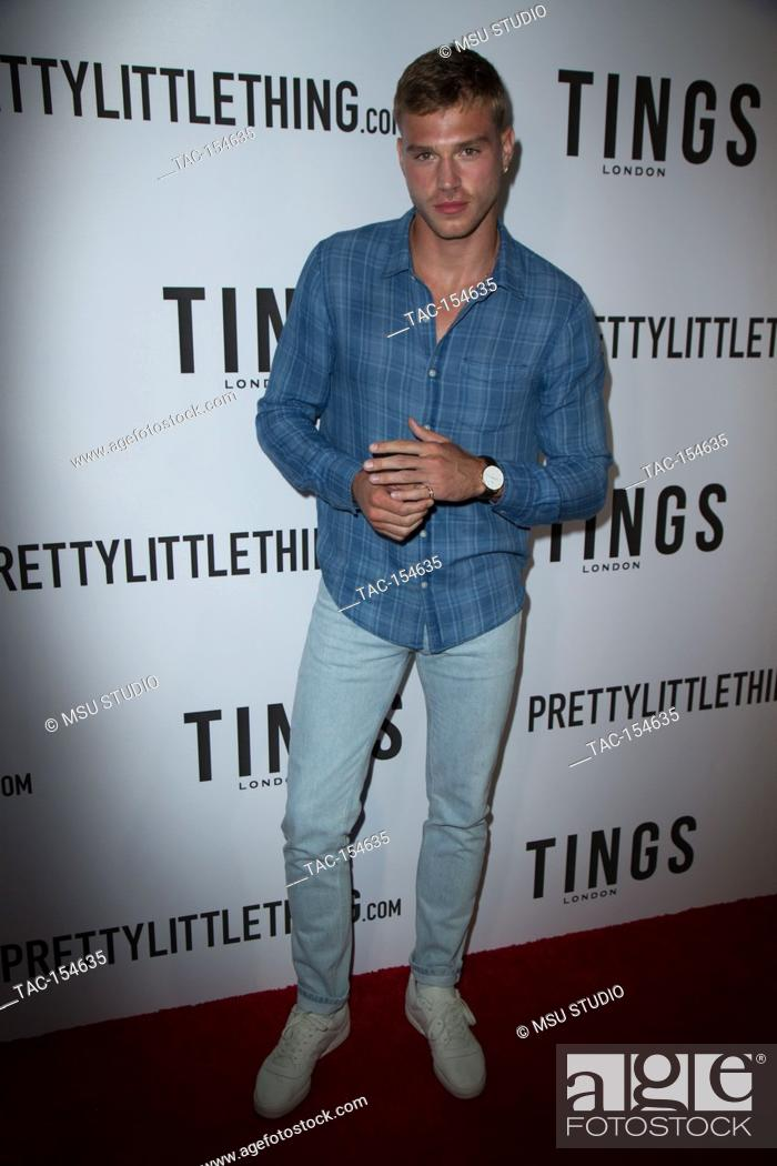 """Stock Photo: Matthew Noszka attends the """"""""Secret Party"""""""" launch of TINGS London Magazine at Nightingale on August 23, 2017 in Los Angeles, California."""