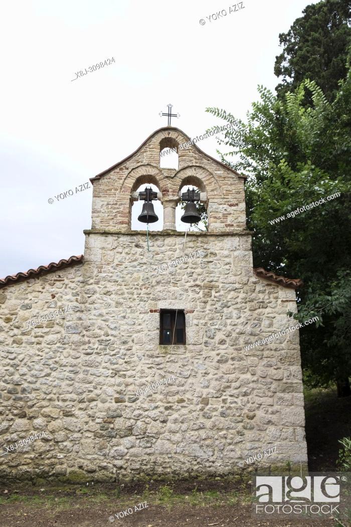 Imagen: Albania, Vlore, Zvernecit, Fjetja monastery.
