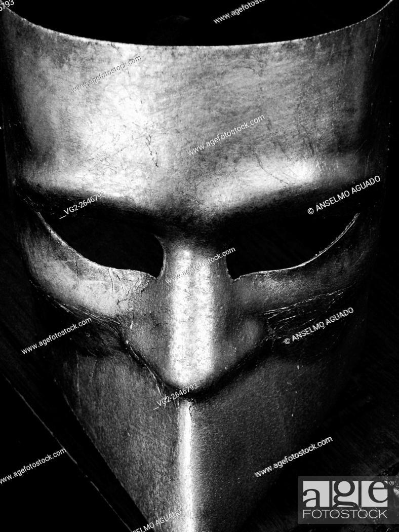 Stock Photo: italian venice carnival mask.