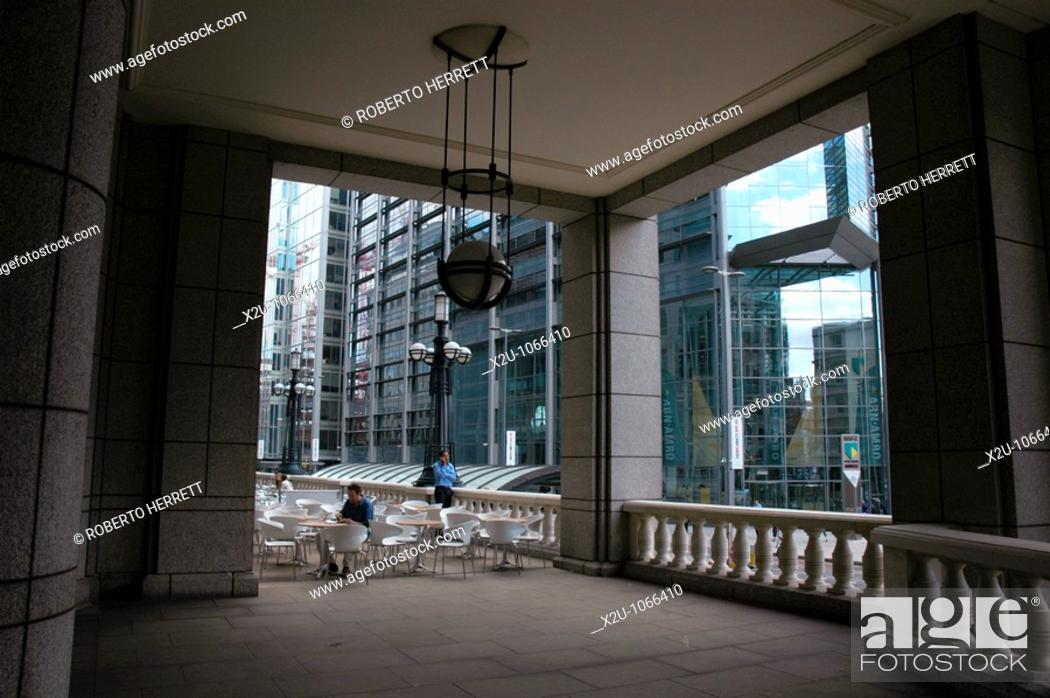 5911398035a Stock Photo - Bishopsgate Arcade in the City of London financial district,  London, England