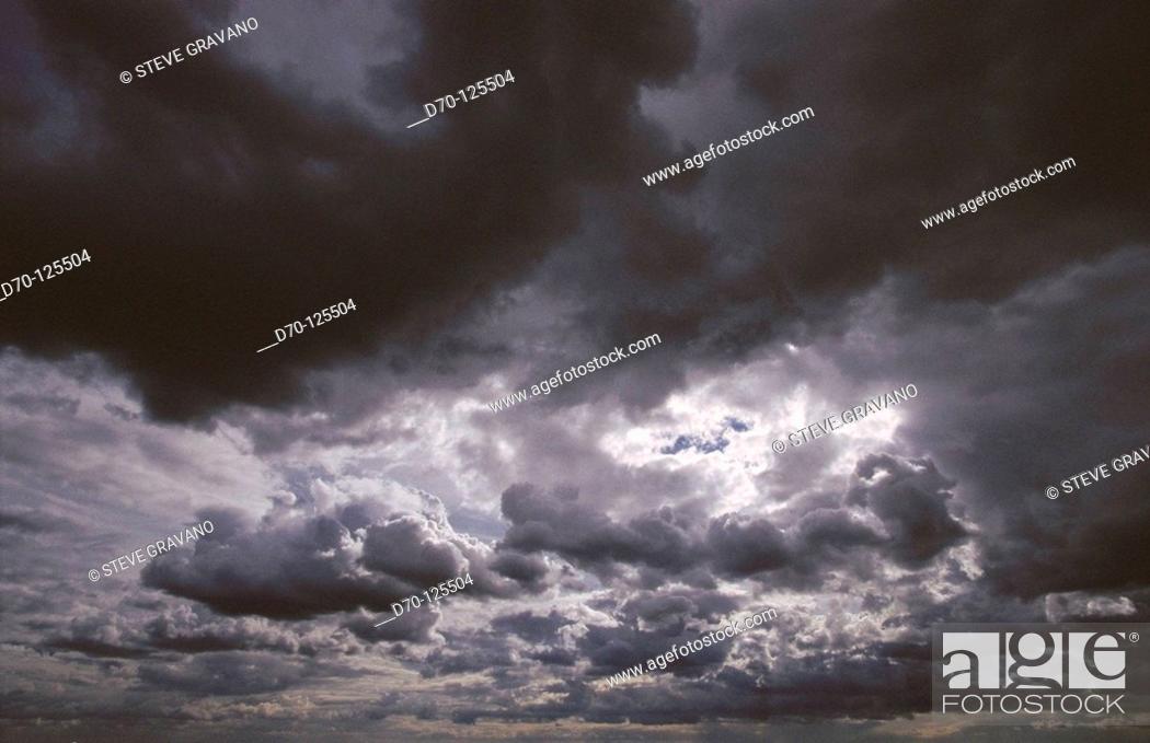 Photo de stock: Clouds.