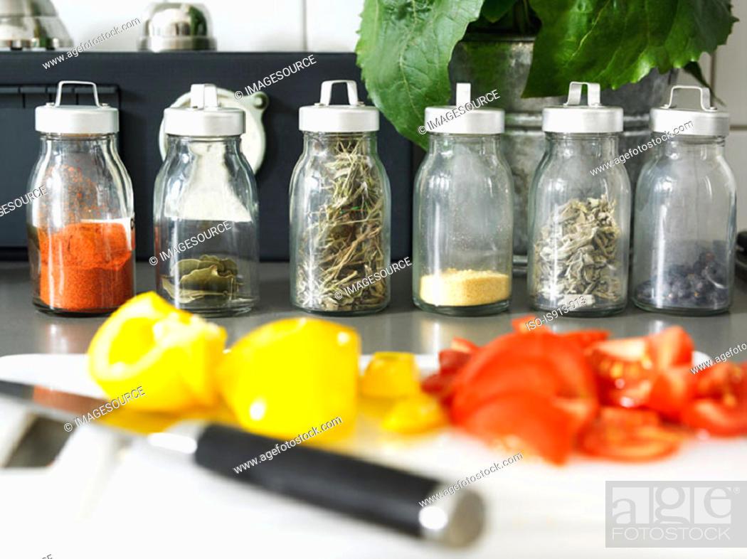Stock Photo: Cooking ingredients.