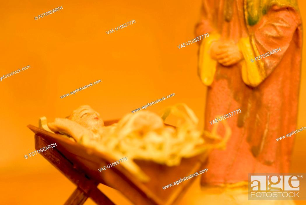 Stock Photo: calf, austria, brauchtum, betlehem, belief, Christian, advent.