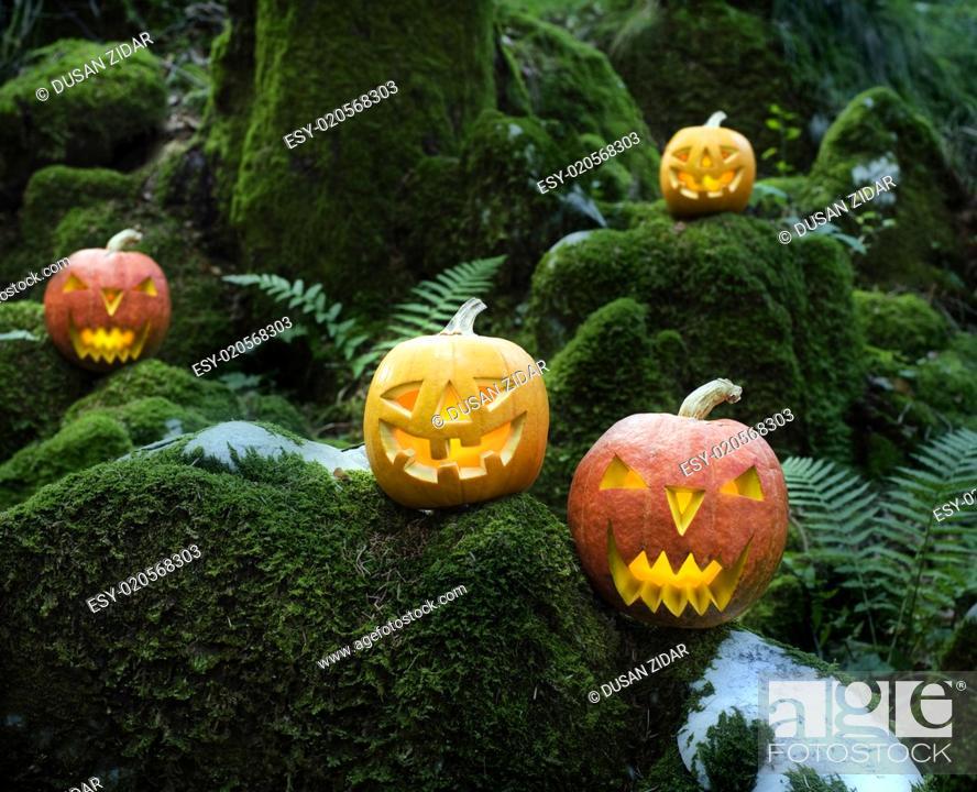 Stock Photo: Halloween.