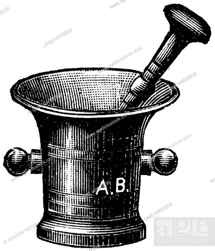 Stock Photo: Mortar.