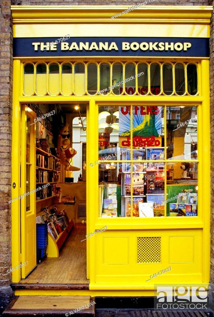 Stock Photo: Bookshop. London. England.