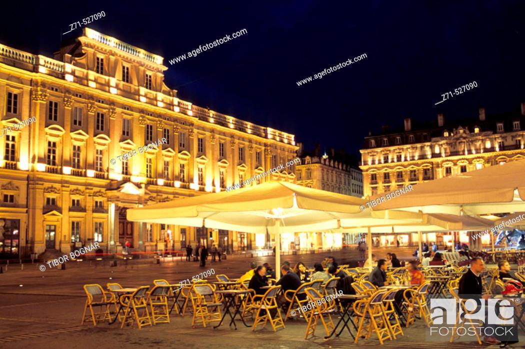Stock Photo: Place des Terreaux. Lyon. France.
