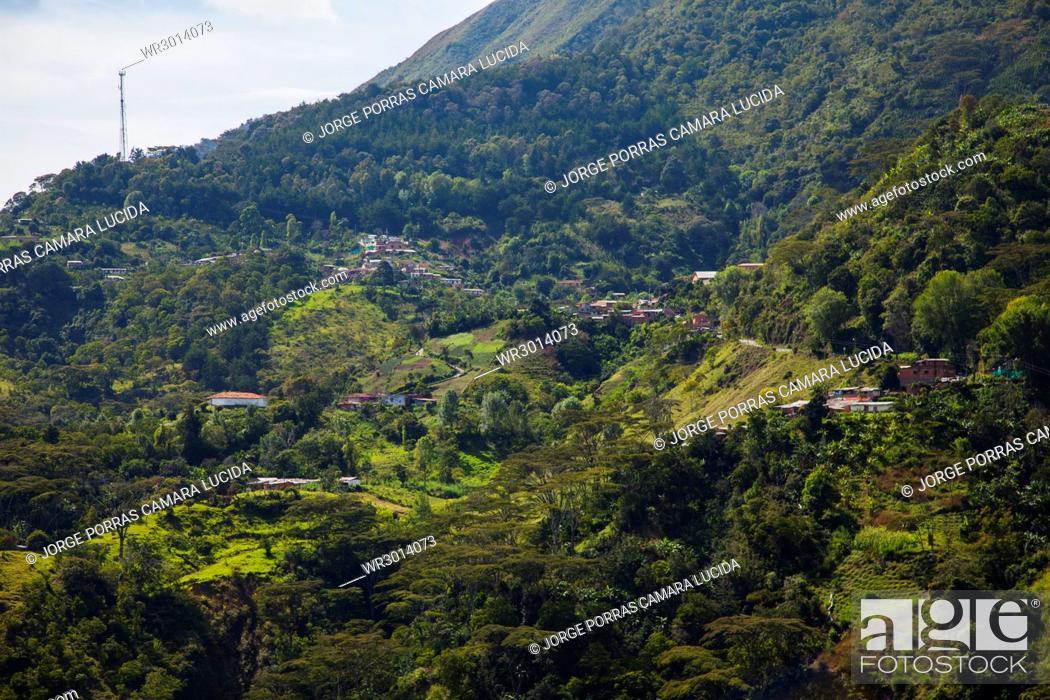 Imagen: Via El Toyo-Ca?±as Gordas; Antioquia; Colombia.