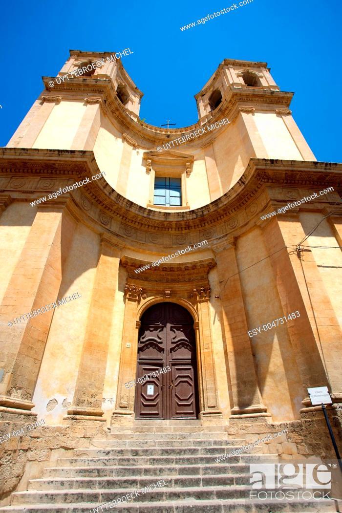 Stock Photo: San Francesco in Noto.
