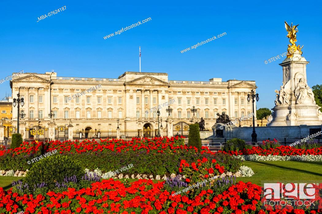 Imagen: England, London, Buckingham Palace.