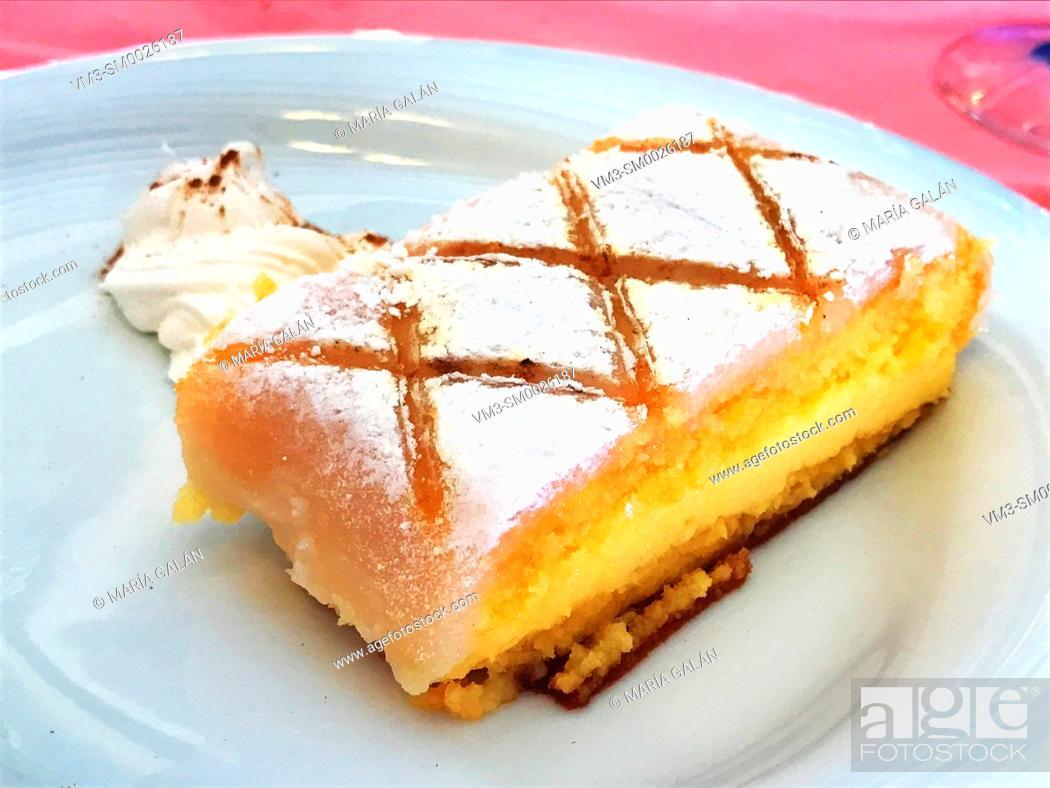 Photo de stock: Ponche segoviano, traditional dessert. Segovia, Spain.
