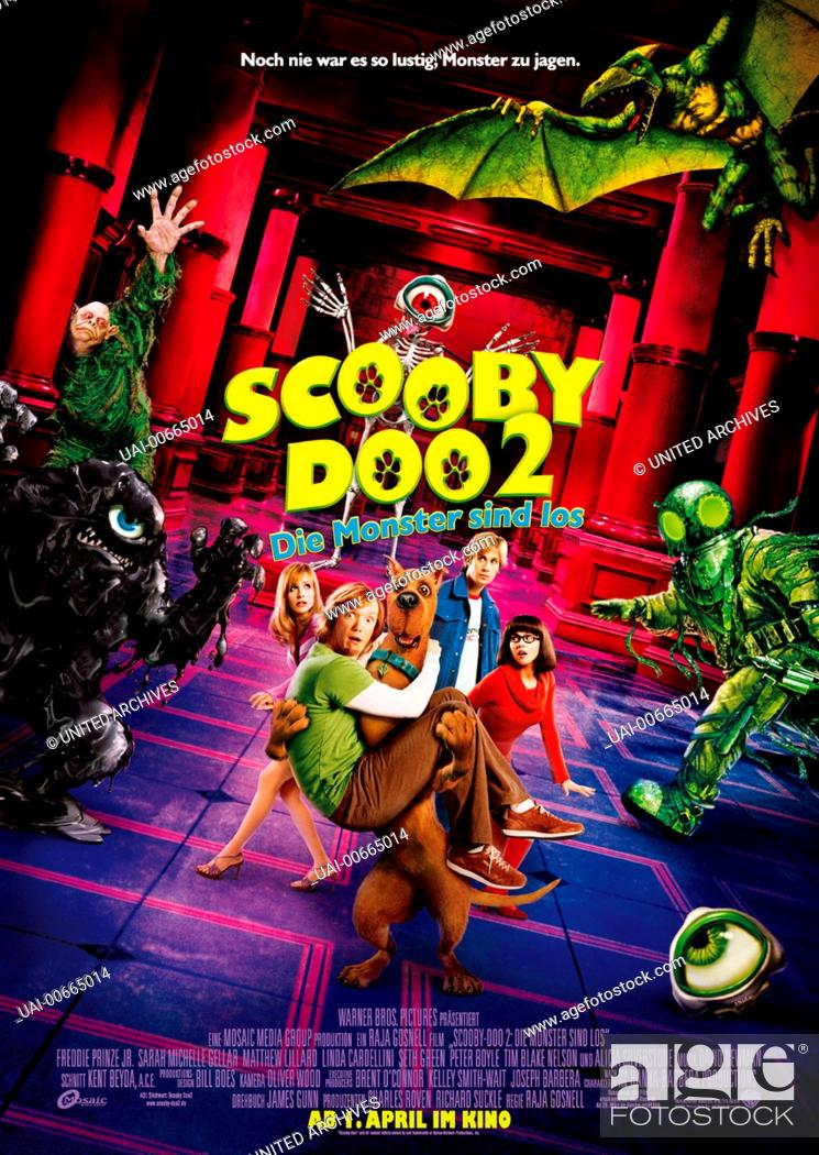 Scooby Doo 2 Die Monster Sind Los Scooby Doo 2 Monsters Unleashed Usa 2004 Raja Gosnell Stock Photo Picture And Rights Managed Image Pic Uai 00665014 Agefotostock
