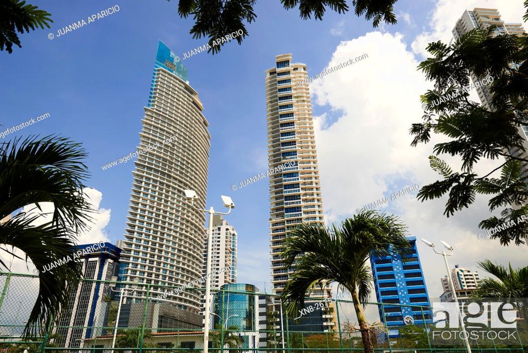 Stock Photo: Panama City, Panama, Central America.