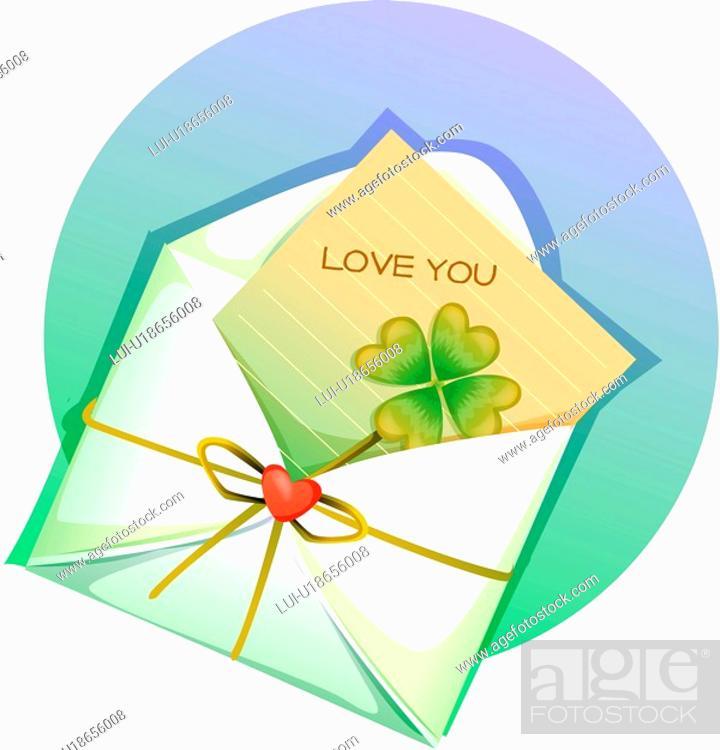 Stock Photo: letter, event, valentine`s day, anniversary, Valentine, love letter, imagediary.