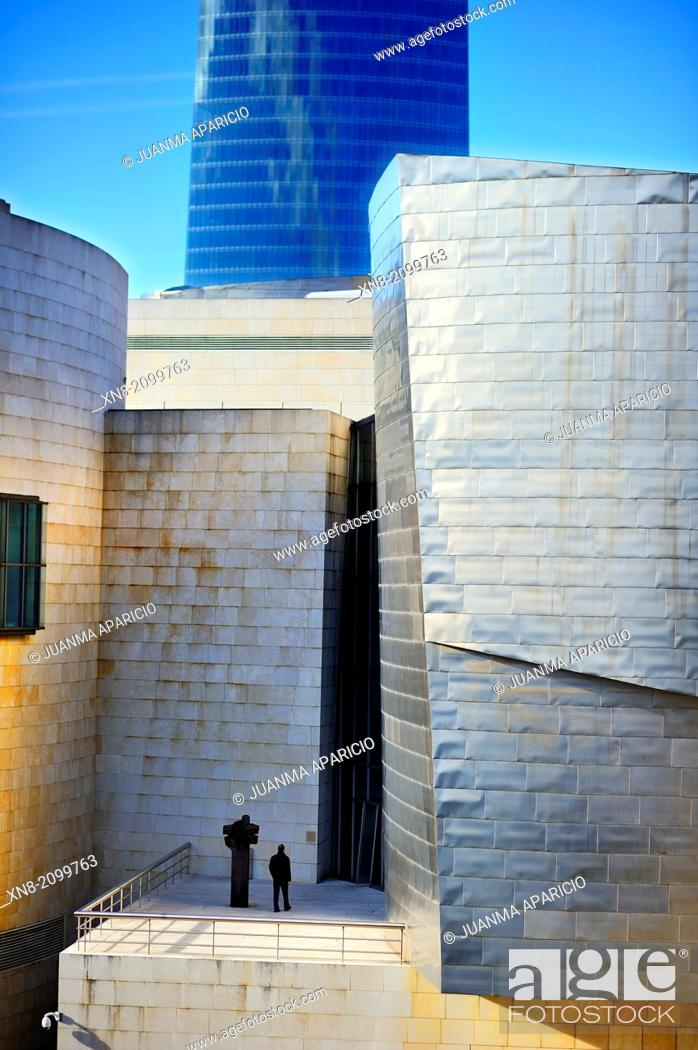 Imagen: Guggenheim museum, Bilbao, Euskadi, Biscay, Bizkaia, Basque Country, Spain, Europe.