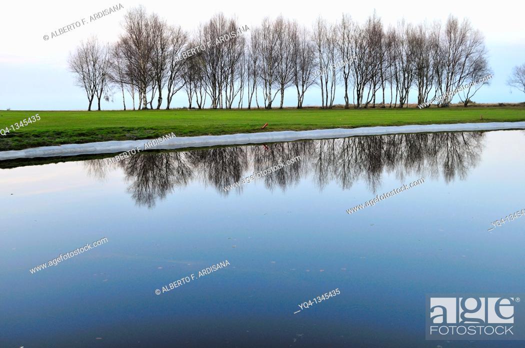 Imagen: Municipal golf courses in Llanes.