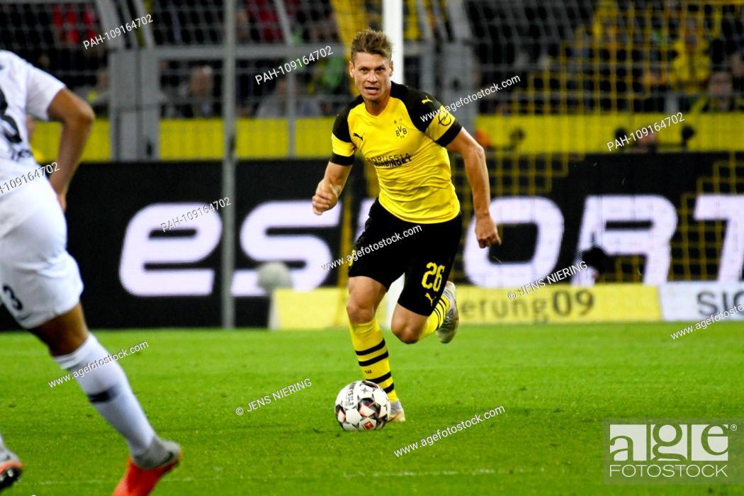 Stock Photo: Soccer; matchday 3; 1st National League; Season 2018/2019; Borussia Dortmund versus Eintracht Frankfurt on 14.09.2018 in Dortmund.