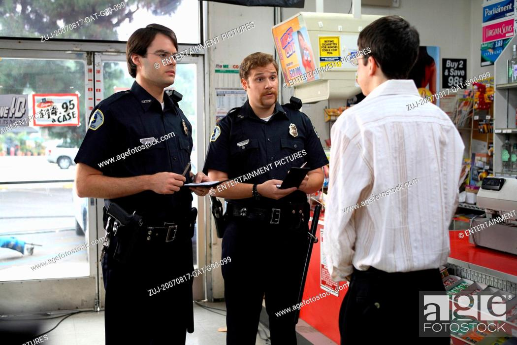 Stock Photo: RELEASE DATE: August 17, 2007. MOVIE TITLE: Superbad. STUDIO: Columbia Pictures. PLOT: Two co-dependent high school seniors are forced to deal with separation.