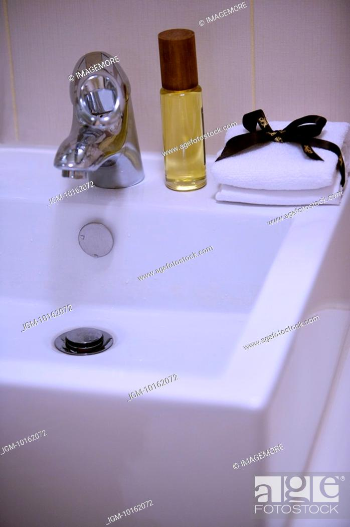 Stock Photo: Modern Interior Design - Bathroom Sink.