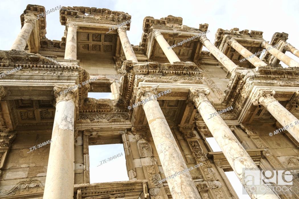 Imagen: Library of Celsus. Ephesus, UNESCO World Heritage Site, Selçuk, Izmir Province, Ionia Region, Turkey, Eurasia.