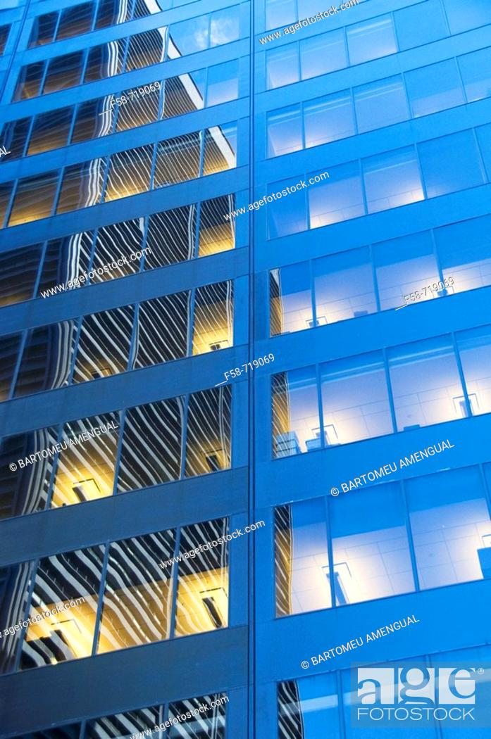 Stock Photo: An exterior view of a office building.