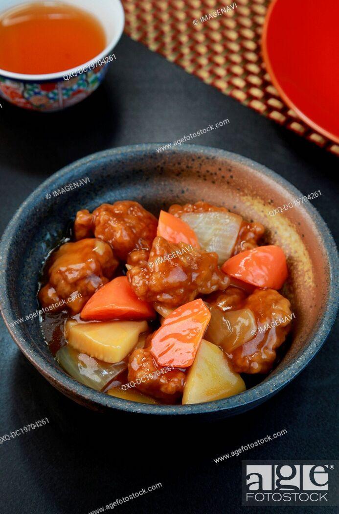 Imagen: Sweet and sour pork (Subuta).