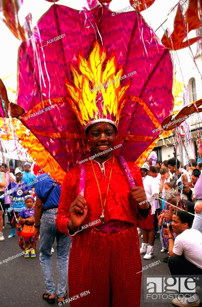Stock Photo: Great Britain - London - Notting Hill Carnival.