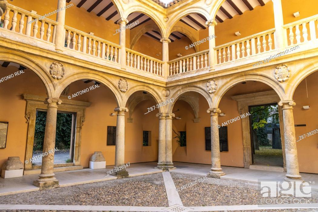 Stock Photo: Palace of the Counts of Cirat or Casa Grande. Almansa. Albacete.